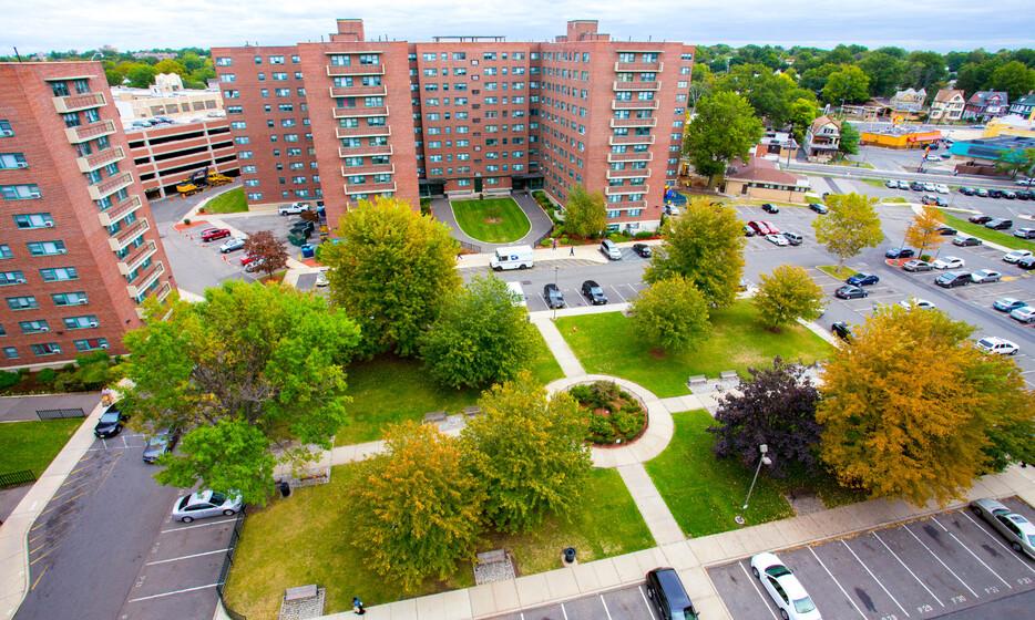 irv aerial - Maple Gardens Review In Irvington Nj